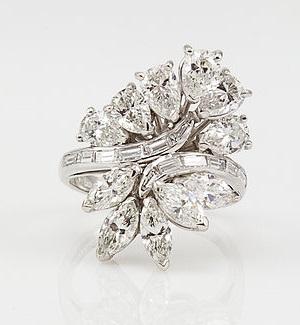 vintage dress rings